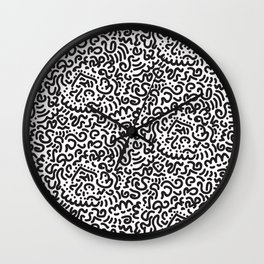 Simply Doodle Wall Clock