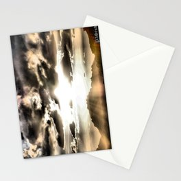 Sun Rays Stationery Cards