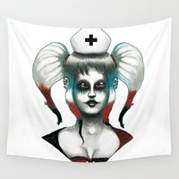 harley Wall Tapestries featuring Harley ! by Alejandro Dayer