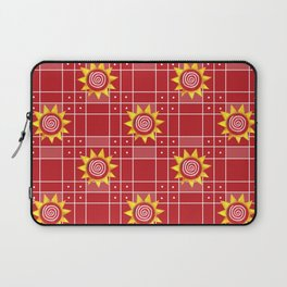 Red Hot Sunny Days Laptop Sleeve