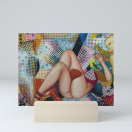Naked pop art Mini Art Print