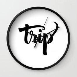 Trip! Wall Clock