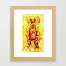Jeff Koons Framed Art Print