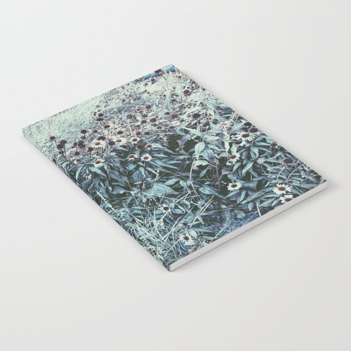 Silver Flowers Notebook