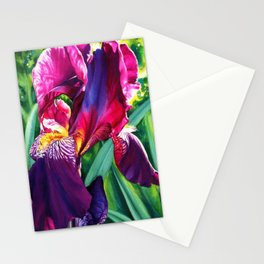 The Queen's Iris Stationery Cards