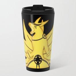 The Demon Fox Within Travel Mug