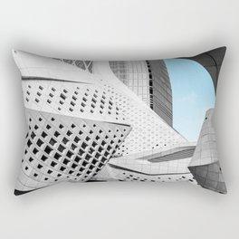 Nanjing International Youth Cultural Centre | Zaha Hadid Architects #architecture Rectangular Pillow