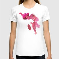 ponyo T-shirts featuring Ponyo and Sosuke in Pink by foreverwars