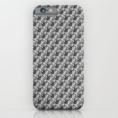 Floral Black and White iPhone 6s Slim Case