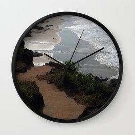 Steps Down to the Beach Varkala Wall Clock