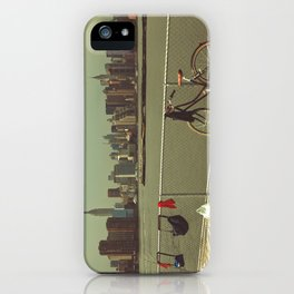 A Green Point Of View iPhone Case
