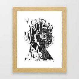 Diamond King Framed Art Print