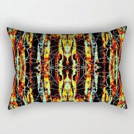 Colorful Indian Pattern Rectangular Pillow