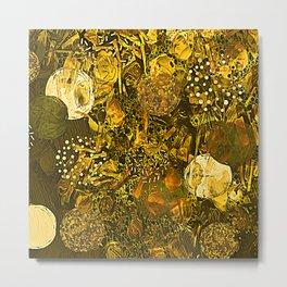 Sunshine Abstract Metal Print