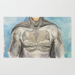 The Bat Man - Fictional Superhero Rug