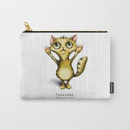 yoga cat tadasana Carry-All Pouch