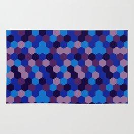 Hexagonal geometric pattern Rug