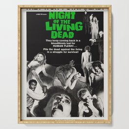Night of the Living Dead Serving Tray
