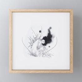 Dark Framed Mini Art Print