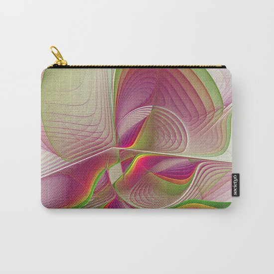 Another Colorful Beauty Abstract Fractal Art Carry-All Pouch