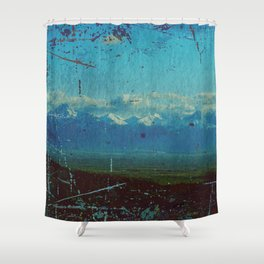 Distressed - II Shower Curtain