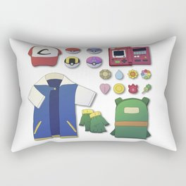 Poke Gear Rectangular Pillow