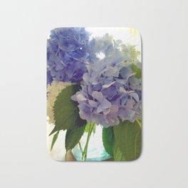 Hydrangea Bouquet Bath Mat
