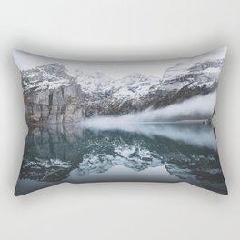 The Winter Tundra Rectangular Pillow