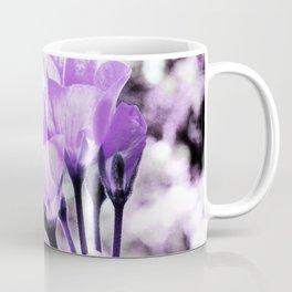 Ultraviolet Lavender Flowers Coffee Mug