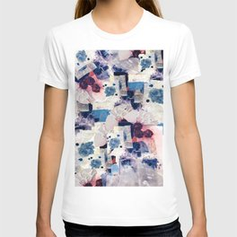 patchy collage T-shirt