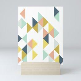 Modern Geometric Design Mini Art Print