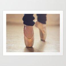 Ballet Shoes Art Print