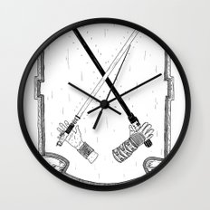The Force! Wall Clock