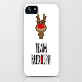 Team Rudolph iPhone Case