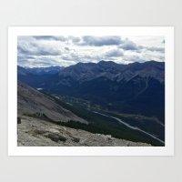 Mountain Adventures Art Print