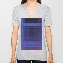 Space Plaid ii Unisex V-Neck