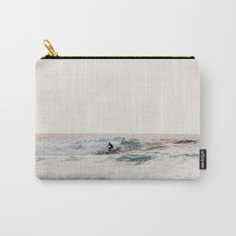 Surfer at Blacks Beach Carry-All Pouch
