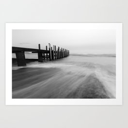 Flinders Bay Jetty, Western Australia Art Print