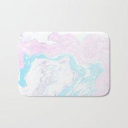 Colorful Waves Marbling Bath Mat