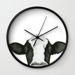 Curious Pauline Wall Clock