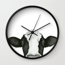 Curious Pauline Wall Clock