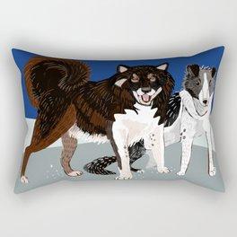 Karafuto Ken - Sakhalin husky Rectangular Pillow