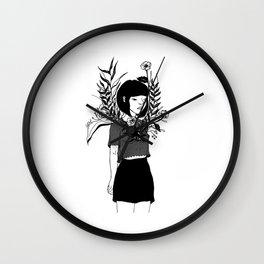 Flaws Wall Clock