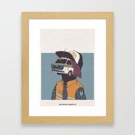 2013 - CALENDARIO CROCE D'ORO CERVO  Framed Art Print