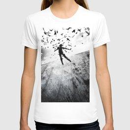 Birds in the head T-shirt