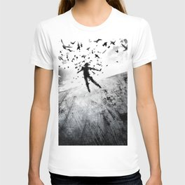 Birds in the head T-shirt