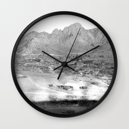 Pima County, Arizona. 1909 Wall Clock