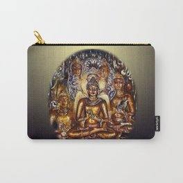 Gold Buddha Carry-All Pouch