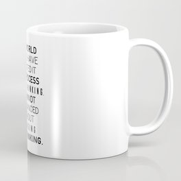 Einstein's quote Coffee Mug