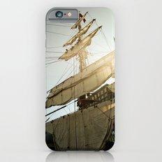 Tall Ship in Boston Harbor iPhone 6s Slim Case